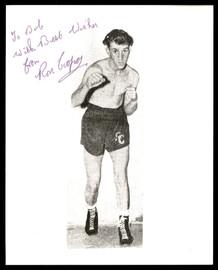 "Ron Cooper Autographed 8x10 Photo ""To Bob"" SKU #186941"