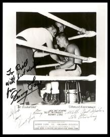 "Kenny Lane Autographed 8x10 Photo ""To Bill"" SKU #186946"