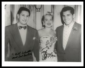 "Sal Bartolo & Tony DeMarco Autographed 8x10 Photo ""To Bill"" SKU #186947"