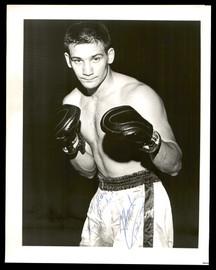 """Mark Tessman Autographed 8x10 Photo """"To Ron Keep Punchin"""" SKU #186952"""