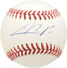 Cristian Pache Autographed Official MLB Baseball Atlanta Braves BAS Stock #186806