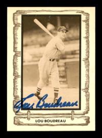 Lou Boudreau Autographed 1980 Pacific Card #79 Cleveland Indians SKU #189084