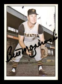 Bill Mazeroski Autographed 1978 TCMA The 1960's Card #62 Pittsburgh Pirates SKU #189189