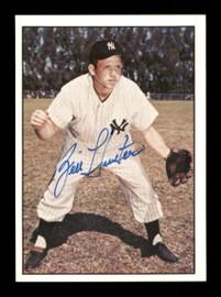 Billy Hunter Autographed 1981 TCMA Card #118 New York Yankees SKU #189288