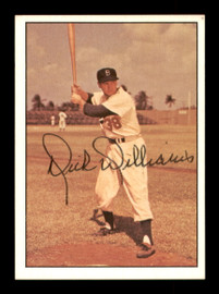 Dick Williams Autographed 1981 TCMA Card #227 Brooklyn Dodgers SKU #189313