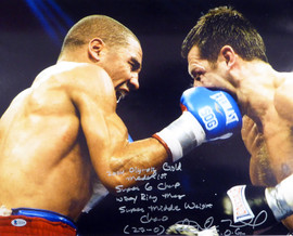 "Andre Ward Autographed 16x20 Photo ""2004 Olympic Gold Medalist, Super 6 Champ, WBA/Ring Mag Super Middle Weight Champ, 27-0, SOG"" Beckett BAS #V61293"