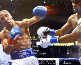 "Andre Ward Autographed 16x20 Photo ""2004 Olympic Gold Medalist, Super 6 Champ, WBA/Ring Mag Super Middle Weight Champ, 27-0, SOG"" Beckett BAS #V61291"