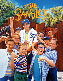 Victor DiMattia & Shane Obedzinski Autographed 11x14 Photo The Sandlot MCS Holo #58001