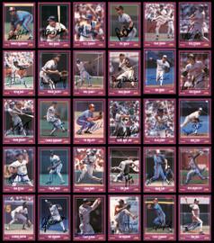 1988 Score Baseball Autographed Cards 279 Count Lot Starter Set All Different SKU #189793