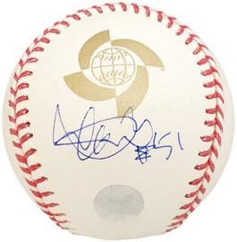 "Ichiro Suzuki Autographed Official 2009 WBC Baseball Seattle Mariners ""#51"" IS Holo Stock #189809"