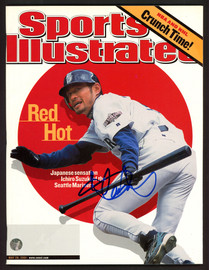 Ichiro Suzuki Autographed Sports Illustrated Magazine Seattle Mariners First SI No Label IS Holo #190693