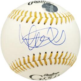 Ichiro Suzuki Autographed Official Gold Glove MLB Baseball Seattle Mariners IS Holo Stock #190505