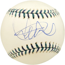 Ichiro Suzuki Autographed Official 2001 All Star Game  Baseball Seattle Mariners Sweet Spot IS Holo Stock #190507