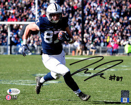 Pat Freiermuth Autographed 8x10 Photo Penn State Nittany Lions Beckett BAS Stock #191145
