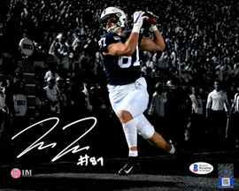 Pat Freiermuth Autographed 8x10 Photo Penn State Nittany Lions Beckett BAS Stock #191146