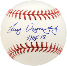"Chipper Jones Autographed Official MLB Baseball Atlanta Braves Full Name ""HOF 18"" Beckett BAS Stock #191209"