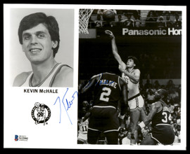 Kevin McHale Autographed Team Issued 8x10 Photo Boston Celtics Vintage Beckett BAS #X12995