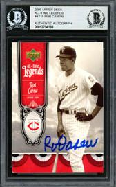 Rod Carew Autographed 2006 Upper Deck All Time Legends Card #ATL-15 Minnesota Twins Beckett BAS #12754169