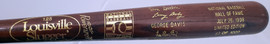 Unsigned Larry Doby & Don Sutton 1998 Baseball Hall of Fame Induction Bat #83/1000 SKU #193536