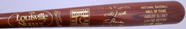 Unsigned Tom Lasorda & Nellie Fox 1997 Baseball Hall of Fame Induction Bat #83/1000 SKU #193555