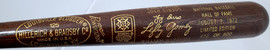 Unsigned Sandy Koufax & Yogi Berra 1972 Baseball Hall of Fame Induction Bat #422/500 SKU #193559