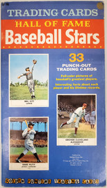 Unsigned 7.5x13 1961 Golden Press Hall of Fame Baseball Stars Booklet SKU #193667