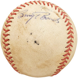 Barry Bonds Autographed Official Game Used NCAA Championship Baseball Arizona State Sun Devils Vintage Signature Beckett BAS #AA001195
