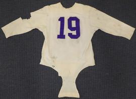 Washington Huskies Bill Early Circa 1949-1951 Game Used White Jersey Unsigned SKU #193839