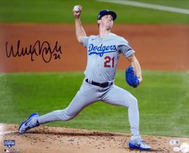Walker Buehler Autographed 16x20 Photo Los Angeles Dodgers Beckett BAS QR Stock #193998