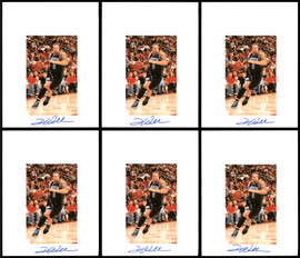 Deron Williams Autographed 8.5x11 Photo 12 Count Lot Utah Jazz SKU #194023
