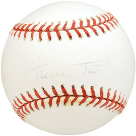 Willie Mays Autographed Official NL Baseball San Francisco Giants Steiner SKU #194053