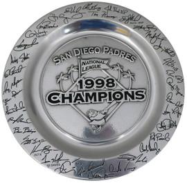 1998 San Diego Padres Wilton Company Plate Unsigned SKU #195323