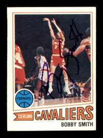 Bobby Smith Autographed 1977-78 Topps Card #126 Cleveland Cavaliers SKU #195486