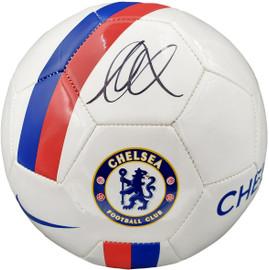 Mason Mount Autographed White Nike Soccer Ball Chelsea F.C. Beckett BAS Stock #196466
