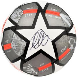 Mason Mount Autographed Adidas Soccer Ball Chelsea F.C. Beckett BAS Stock #196468