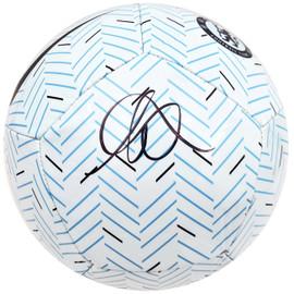 Mason Mount Autographed Nike Soccer Ball Chelsea F.C. Beckett BAS Stock #196470