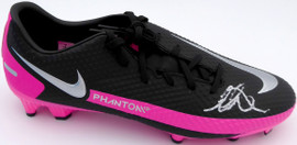 Mason Mount Autographed Blue & Pink Nike Phantom Cleat Shoe Chelsea F.C. Size 9 Beckett BAS #K06434