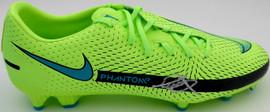 Mason Mount Autographed Green Nike Phantom Cleat Shoe Chelsea F.C. Size 12 Beckett BAS #K06442