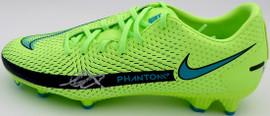Mason Mount Autographed Green Nike Phantom Cleat Shoe Chelsea F.C. Size 9.5 Beckett BAS #K06320