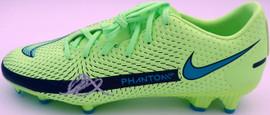 Mason Mount Autographed Green Nike Phantom Cleat Shoe Chelsea F.C. Size 10 Beckett BAS #K06326