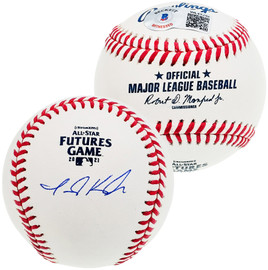 Jarred Kelenic Autographed Official 2021 All Star Futures Game MLB Baseball Seattle Mariners Beckett BAS QR Stock #196546