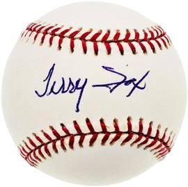 Terry Fox Autographed Official MLB Baseball Detroit Tigers, Atlanta Braves Tristar #8016194