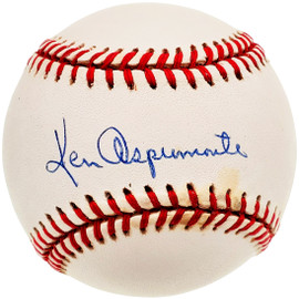 Ken Aspromonte Autographed Official AL Baseball Boston Red Sox, Cleveland Indians Beckett BAS #F26013