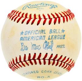Unsigned Official Lee MacPhail AL Baseball SKU #196774