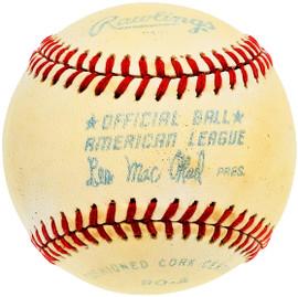 Unsigned Official Lee MacPhail AL Baseball SKU #196775