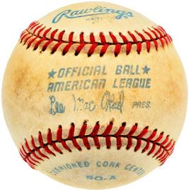 Unsigned Official Lee MacPhail AL Baseball SKU #196776