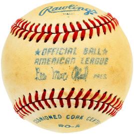 Unsigned Official Lee MacPhail AL Baseball SKU #196777