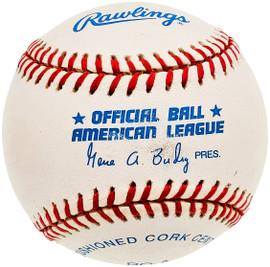 Unsigned Official Gene Budig AL Baseball SKU #196779