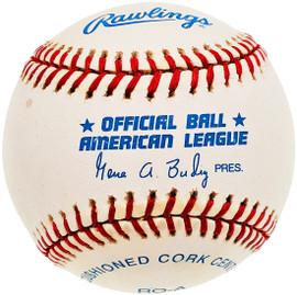 Unsigned Official Gene Budig AL Baseball SKU #196780