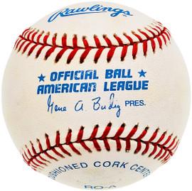 Unsigned Official Gene Budig AL Baseball SKU #196782